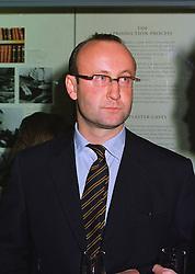 MR SEBASTIAN SAINSBURY at an exhibition in London on 13th November 1997.<br /> MDH 30
