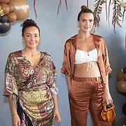NLD/Amsterdam/20200914 - Fajah Lourens introduceert nieuwe lijn Killerbody, Fajah Lourens en Kim Feenstra