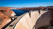 Glen Canyon Dam, Glen Canyon National Recreation Area, Page, Arizona USA