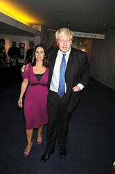 Mayor of London BORIS JOHNSON and his wife MARINA at the GQ Men of the Year Awards held at the Royal Opera House, London on 2nd September 2008.<br /> <br /> NON EXCLUSIVE - WORLD RIGHTS
