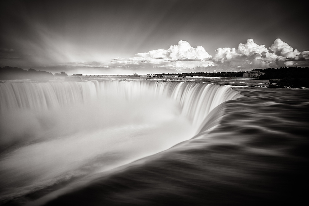 Naiagra Falls -- from the Canadian side