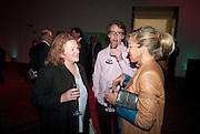 RACHEL WHITEREAD, Damien Hirst, Tate Modern: dinner. 2 April 2012.