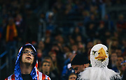 Fans watch the action during the U.S. Women's National Team exhibition game against Brazil at CenturyLink Field, Wednesday, Oct. 21, 2015. The game ended in a 1-1 tie. (Genna Martin, seattlepi.com)