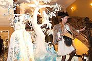HANNAH BHUIYA, Unveiling of the Dior Christmas Tree by John Galliano at Claridge's. London. 1 December 2009