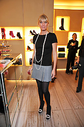 DEBORAH LENG at a party to celebrate the arrival of the 'A Princess to be a Queen' collection at the Roger Vivier boutique on Sloane Street, London on 20th October 2009.