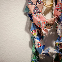 031314       Cable Hoover<br /> <br /> Much Kristi Wilson's jewelry is made of found and repurposed cloth and other materials.