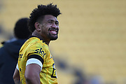 Hurricanes Ardie Savea in the Super Rugby match, Hurricanes v Crusaders, Sky Stadium, Wellington, Sunday, April 11, 2021. Copyright photo: Kerry Marshall / www.photosport.nz