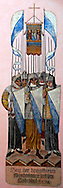 Soldiers of the Cross Mural, Zurich Switzerland