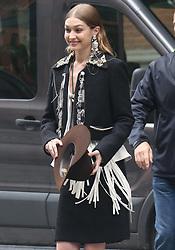 Gigi Hadid in a photo shoot in New York City. 31 May 2018 Pictured: Gigi Hadid. Photo credit: TPG/MEGA TheMegaAgency.com +1 888 505 6342
