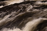 Rushing Water in Pier's Gorge in Spring