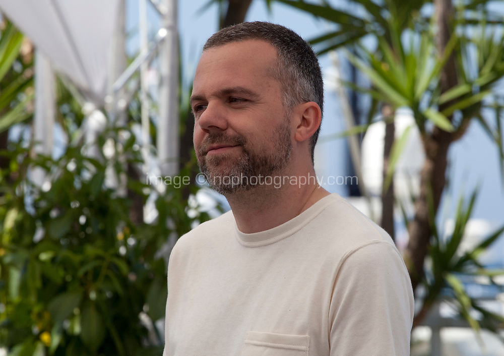 Director Yann Gonzalez at the Knife + Heart (Un Couteau Dans Le Coeur) film photo call at the 71st Cannes Film Festival, Friday 18th May 2018, Cannes, France. Photo credit: Doreen Kennedy