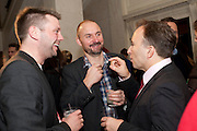 TONNY GLISMAND; KARL RUDIGER ROSSELL, TONY CHAMBERS, Wallpaper Design Awards 2012. 10 Trinity Square<br /> London,  11 January 2011.