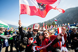 Fans during the Ski Flying Hill Men's Team Competition at Day 3 of FIS Ski Jumping World Cup Final 2017, on March 25, 2017 in Planica, Slovenia. Photo by Ziga Zupan / Sportida