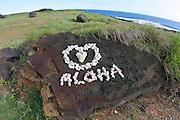 Aloha, South Point, Island of Hawaii