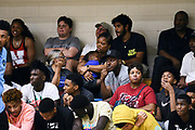 NORTH AUGUSTA, SC. July 10, 2019. The crowd at Nike Peach Jam in North Augusta, SC. <br /> NOTE TO USER: Mandatory Copyright Notice: Photo by Alex Woodhouse / Jon Lopez Creative / Nike