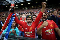 11th May 2017 - UEFA Europa League - Semi Final (2nd Leg) - Manchester United v Celta Vigo - Man Utd fans cheer on their team - Photo: Simon Stacpoole / Offside.