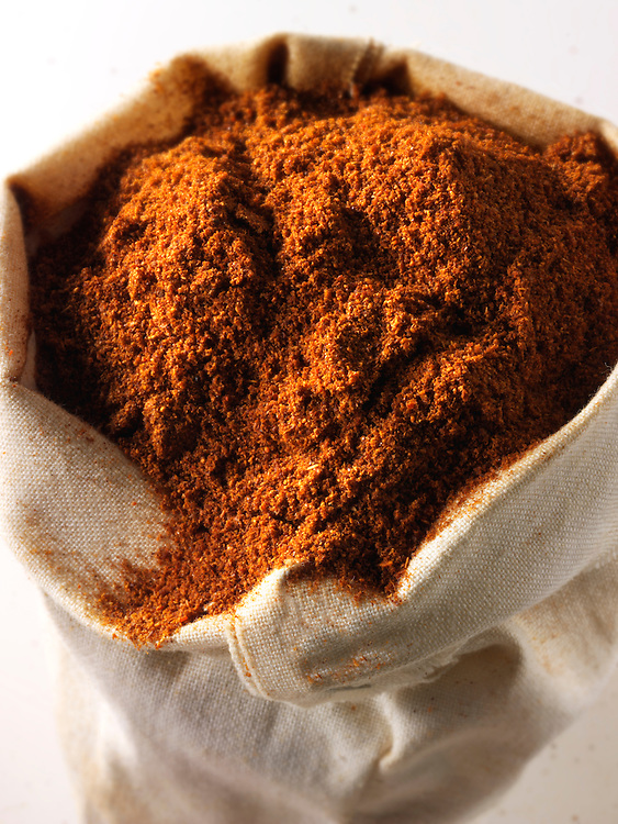 Ground Cayenne Pepper - stock photos