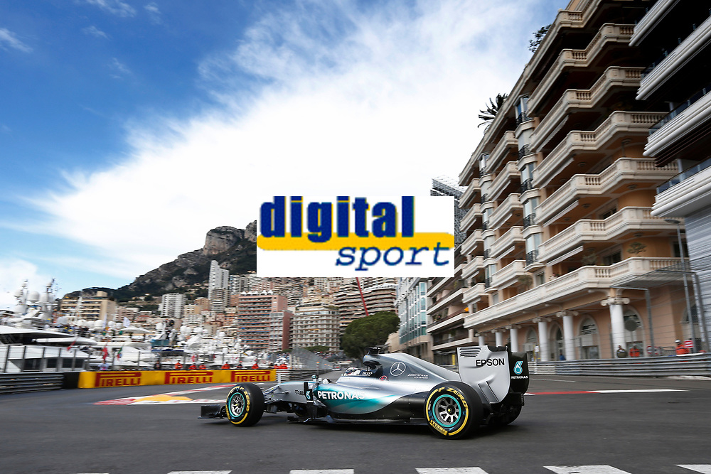 HAMILTON lewis (gbr) mercedes gp mgp w06 action during the 2015 Formula One World Championship, Grand Prix of Monaco from May 20 to 24th 2015, in Monaco. Photo Jean Michel Le Meur / DPPI