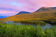 Stikine Valley and Coast Mountains<br /> Stewart Cassiar Highway<br /> British Columbia<br /> Canada