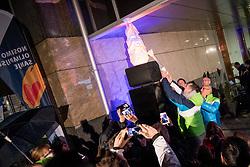 Tomaz Razingar at Lighting and Handover Ceremonies of the OKS Olympic Flame for PyeongChang 2018, on January 9, 2018 in BTC City, Ljubljana, Slovenia. Photo by Matic Klansek Velej / Sportida