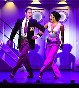 "April 7, 2016, East Haddam, CT<br /> Mara Lavitt -- Special to the Hartford Courant<br /> The run-through of  the classic Cole Porter musical ""Anything Goes"" being performed at Goodspeed Musicals in East Haddam. David Harris as Billy Crocker and Rashidra Scott as Reno Sweeney."