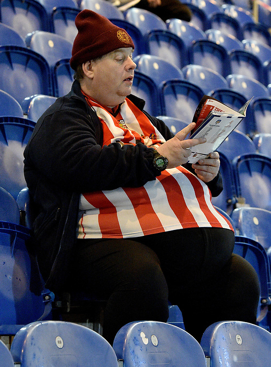 fans enjoy the pre-match atmosphere<br /> <br /> Photographer Hannah Fountain/CameraSport<br /> <br /> The EFL Sky Bet League Two - Colchester United v Lincoln City - Tuesday 21st November 2017 - Colchester Community Stadium - Colchester<br /> <br /> World Copyright © 2017 CameraSport. All rights reserved. 43 Linden Ave. Countesthorpe. Leicester. England. LE8 5PG - Tel: +44 (0) 116 277 4147 - admin@camerasport.com - www.camerasport.com