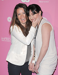 Shannen Doherty and HOLLY MARIE COMBS attending the US Weekly Hot Hollywood Style party held at Greystone Manor in West Hollywood, Los Angeles, CA, USA on April 18, 2012. Photo by Debbie VanStory/Hollywood Press Agency/ABACAPRESS.COM    317117_072