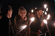 Edinburgh's Hogmanay Torchlight Procession 2018.<br /> <br /> Today 30th December the historic streets of Edinburgh's Old Town were flowing with a river of fire as thousands gathered for the magical Torchlight Procession, providing a suitably magical start to Edinburgh's Hogmanay. <br />  <br /> Families, friends, residents and visitors joined pipe, drum and dance bands from across Scotland, including Edinburgh Samba Band, Glencorse Pipe Band and Hawick Scout Pipe Band generating a blistering beat to accompany the blazing Procession. <br /> <br /> Leading the charge this year is a 40 strong cast from Scotland's pioneering Celtic Fire Theatre company, PyroCeltica who's Highland Warriors showcase a dazzling array of fire skills featuring fire fans, huge flaming claymores and fire staffs, set to the booming beats of the Harbinger Drummers.<br /> <br /> 14 incredible #ScotArt wicker sculptures capturing the pride, passion and creativity of Scotland's young people across its regions formed the fiery heart of Scotland, creating a spectacular finale to the Year of Young People 2018.<br /> <br />  Neil Hanna Photography<br /> www.neilhannaphotography.co.uk<br /> 07702 246823