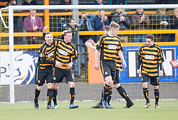 Alloa Athletic 3 v 0 Falkirk, Scottish Championship game played today at Alloa Athletic's home ground, Recreation Park.<br /> © Michael Schofield.