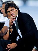 """Milan coach LEONARDO. Allenatore Milan<br /> Pescara 14/8/2009 Stadio """"Adriatico"""" <br /> Trofeo Tim Calcio 2009/2010<br /> Foto Andrea Staccioli Insidefoto"""