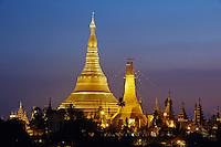 Myanmar (ex Birmanie), Yangon (Rangoon), Paya Shwedagon // Myanmar (Burma), Yangon (Rangoon), Paya Shwedagon