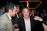 FERRAN ADRIA. The Launch of Food for thought, Thought for Food, The Creative Universe of El Bulli's Ferran Adria. Edited by Richard Hamilton and Vincente Todoli. The double Club, 7 Torrens st. London EC1. 22 June 2009