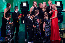 18-12-2019 NED: Sports gala NOC * NSF 2019, Amsterdam<br /> The traditional NOC NSF Sports Gala takes place in the AFAS in Amsterdam / Zapsport price for Oranjeleeuwinnen, Jacky Groenen
