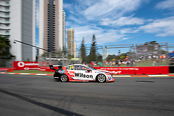October 19, 2018 - Gold Coast, QLD, U.S. - GOLD COAST, QLD - OCTOBER 19: Chris Pither in the Wilson Security Racing GRM Holden Commodore during Friday practiceat The 2018 Vodafone Supercar Gold Coast 600 in Queensland on October 19, 2018. (Photo by Speed Media/Icon Sportswire) (Credit Image: © Speed Media/Icon SMI via ZUMA Press)