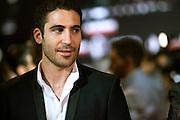 """Spanish actor  Miguel Angel Silvestre  attends the """"Alacran Enamorado"""" Premiere in Madrid at the Callao Cinema"""