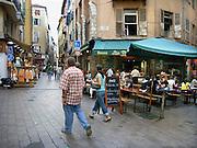 Frankrijk, Nice, 12-9-2006..De oude binnenstad van nice. Een klein deel van het centrum van deze Zuid-Franse stad met smalle straatjes en steegjes en pleintjes...Foto: Flip Franssen/Hollandse Hoogte