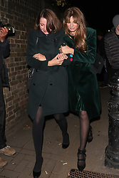 Ronnie Wood Sally Humphreys Jemima Goldsmith Paul McCartney Mariella Frostrup Nikolai Von Bismarck Poppy Delevingne Noel Gallagher Sara MacDonald Mary Charteris Chris Martin Lily Cole Evgeny Lebedev Nicky Hilton Rothschild Jay Jopling Jackson Scott Anneka Rice Bob Geldof Tyrone Wood Emma Thynn, Viscountess Weymouth Daphne Guinness attending Mick Jaggers Christmas Party. 13 Dec 2018 Pictured: Jemima Goldsmith. Photo credit: MM / MEGA TheMegaAgency.com +1 888 505 6342