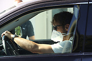 Juventus's Welsh midfielder Aaron Ramsey arrives for training as part of Serie A restart at the Juventus Training Centre, Turin. Picture date: 20th May 2020. Picture credit should read: Jonathan Moscrop/Sportimage