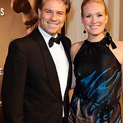 NLD/Den Haag/20111201- Premiere Ramses, Rein Kolpa en partner Wieneke Remmers