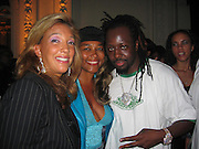 Denise Rich & Wyclef Jean<br />