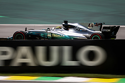November 10, 2017 - Sao Paulo, Brazil - Motorsports: FIA Formula One World Championship 2017, Grand Prix of Brazil, ..#44 Lewis Hamilton (GBR, Mercedes AMG Petronas F1 Team) (Credit Image: © Hoch Zwei via ZUMA Wire)