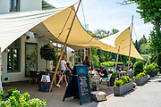Maidenhead, Berkshire, United Kingdom, Wednesday, 02/06/2021, General View, Boathouse Restaurant, Ray Mill Island,  Thames Valley, [Mandatory Credit; Pete Spurrier],