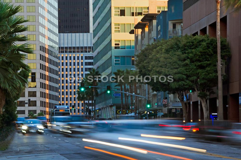 Downtown Los Angeles Street Scene