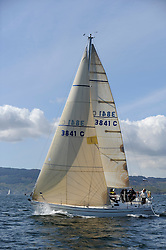 The Clyde Cruising Club's Scottish Series held on Loch Fyne by Tarbert. Day 2 racing in a perfect southerly