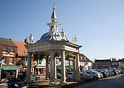 Market cross in the market place, Beverley, Yorkshire, England