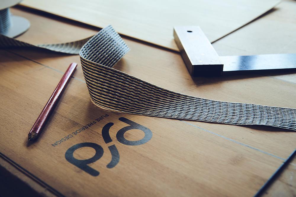 Workshop images shot for Pure Freeride Design hand made bamboo ski's at the woprkshop.