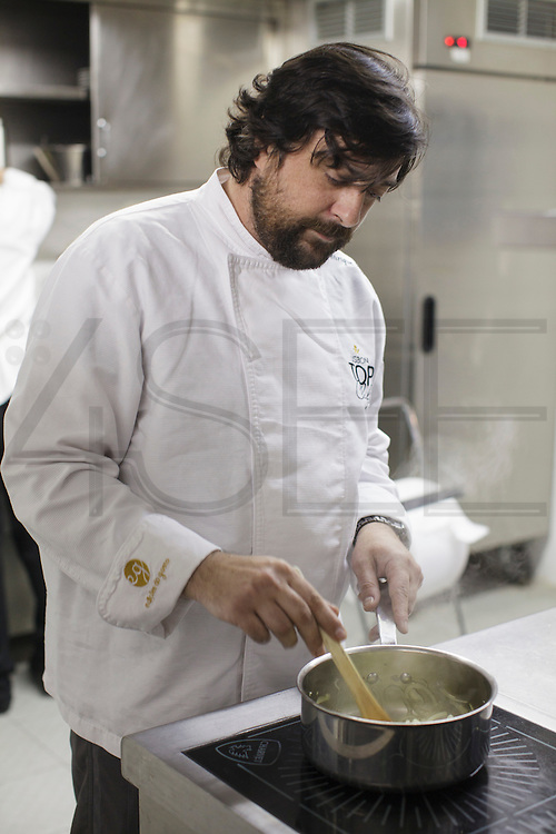 """Henrique Mouro, executive chef and owner of """"Assinatura"""" restaurant in Lisbon, Portugal."""