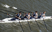 Chiswick, London, Great Britain.<br /> St Peters Sch. J16 Quads, competing at the  2016 Schools Head of the River Race, Reverse Championship Course Mortlake to Putney. River Thames.<br /> <br /> Thursday  17/03/2016<br /> <br /> [Mandatory Credit: Peter SPURRIER;Intersport images]