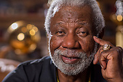 Nolan Richardson photographed in his home on, June 23, 2014 in Rogers, Ark.<br /> <br /> Photo by Beth Hall
