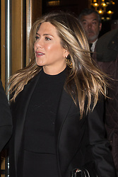Jennifer Aniston and Justin Theroux arriving at Series Mania Festival opening night at Le Grand Rex in Paris, France on April 13, 2017. Photo by Nasser Berzane/ABACAPRESS.COM